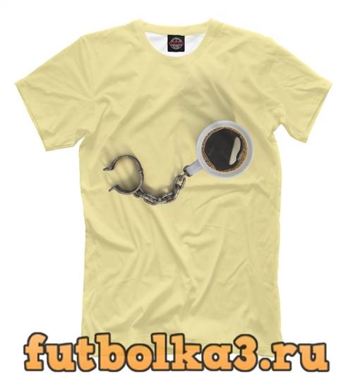 Футболка Coffee chain мужская
