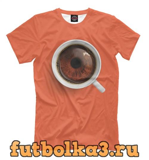 Футболка Coffee eye мужская