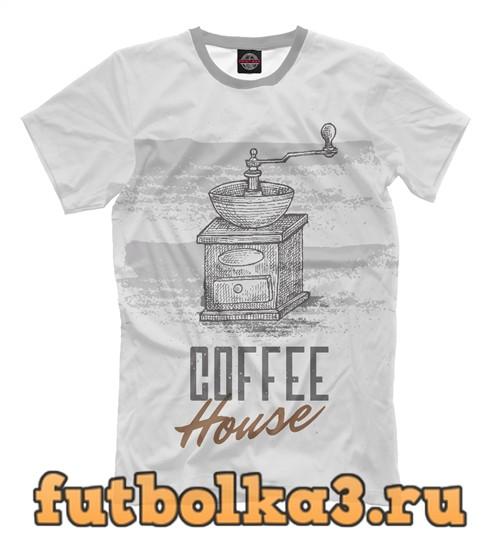Футболка Coffee house мужская