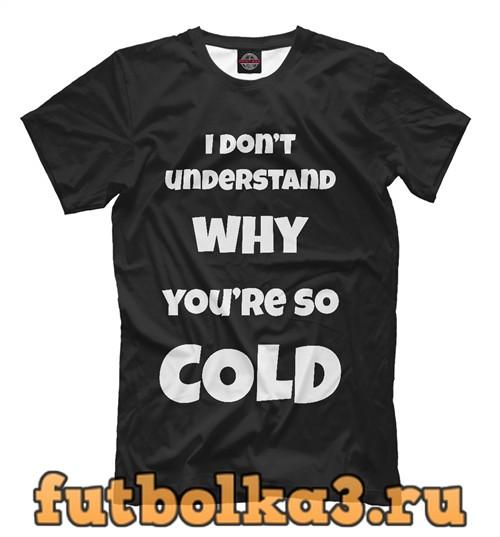 Футболка Cold мужская