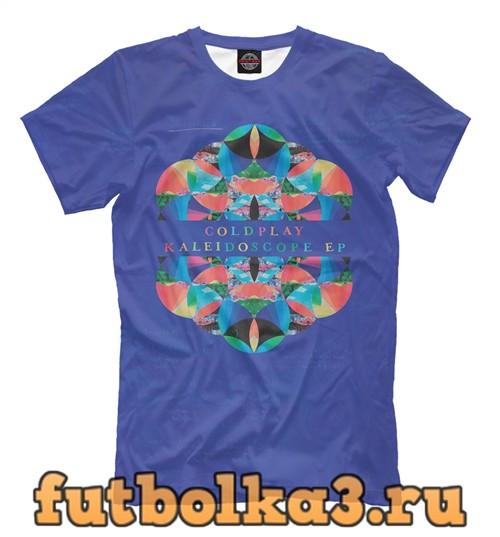 Футболка Coldplay - kaleidoscope мужская