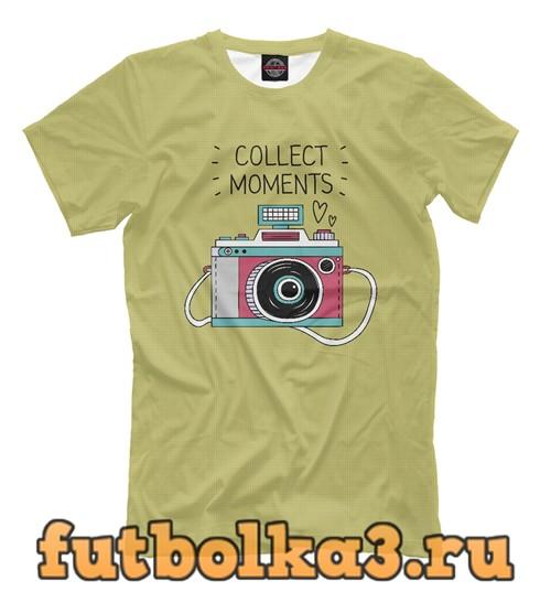 Футболка Collect moments мужская