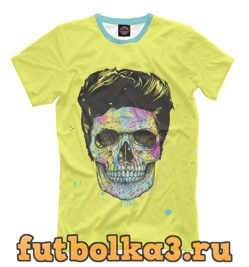 Футболка Color your death мужская