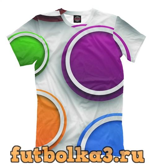 Футболка Colored circles мужская