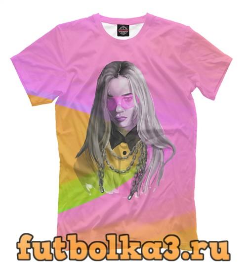 Футболка Colors billie eilish мужская