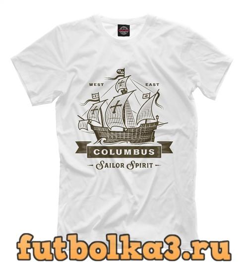 Футболка Columbus мужская