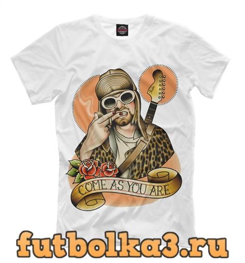 Футболка Come as you are мужская