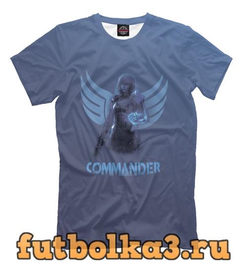 Футболка Commander shepard мужская