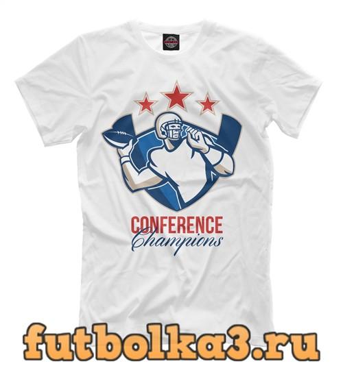 Футболка Conference champions мужская
