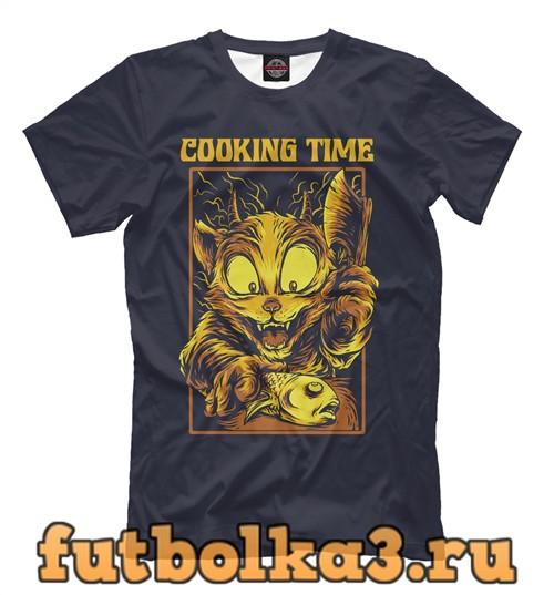 Футболка Cooking time мужская