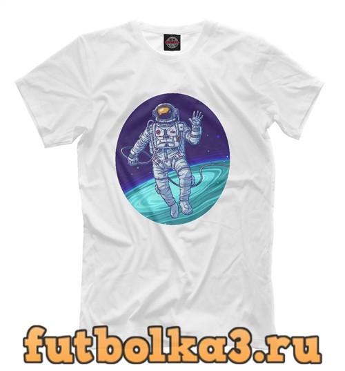 Футболка Cool astronaut мужская