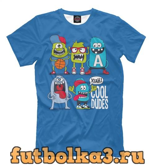 Футболка Cool dudes мужская
