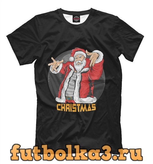 Футболка Cool santa мужская