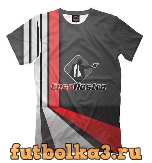 Футболка Cosa nostra мужская