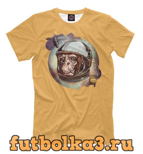 Футболка Cosmic chimp мужская