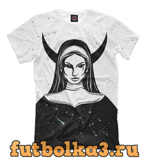 Футболка Cosmic nun мужская