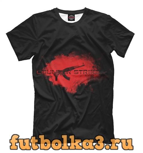 Футболка Counter strike ak 47 мужская
