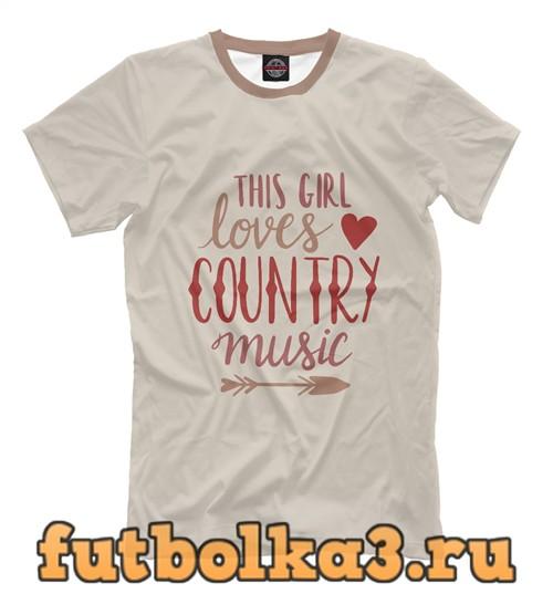 Футболка Country girl мужская