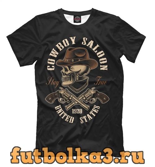 Футболка Cowboy saloon united states мужская