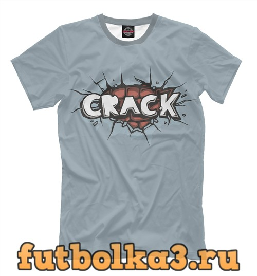 Футболка Crack!!! мужская