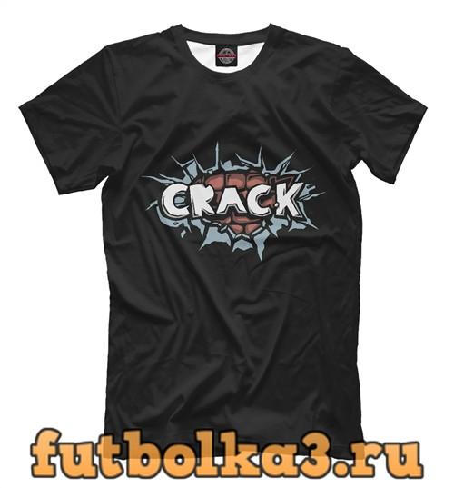 Футболка Crack мужская