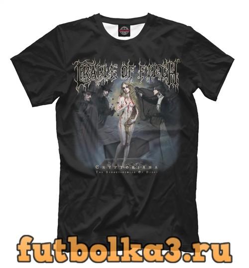 Футболка Cradle of filth: cryptoriana – the seductiveness of decay мужская