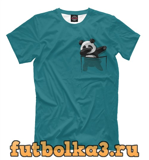 Футболка Dab panda мужская