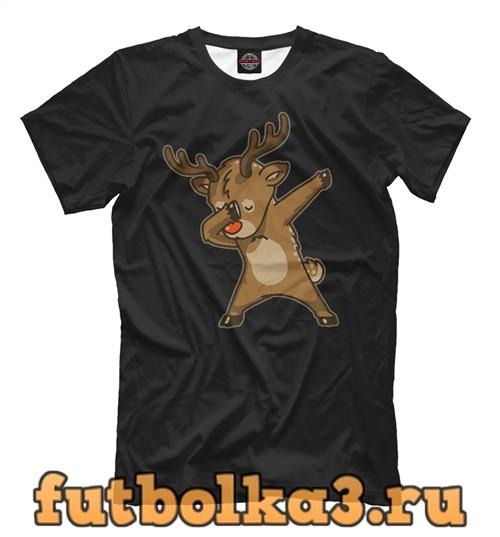 Футболка Deer dab мужская
