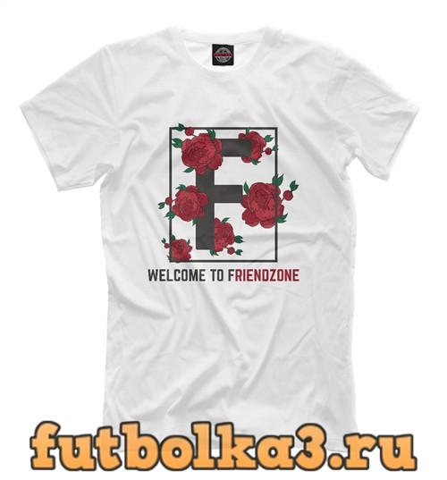 Футболка F - welcome to friendzone мужская