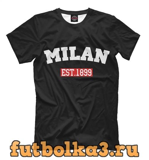 Футболка Fc milan est.1899 мужская