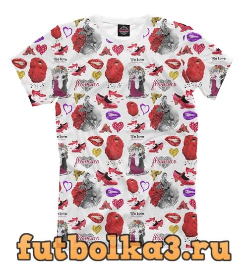 Футболка Flamenco pattern 1 мужская