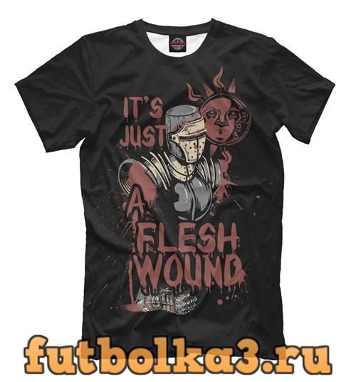 Футболка Flesh wound мужская