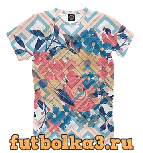 Футболка Flora мужская