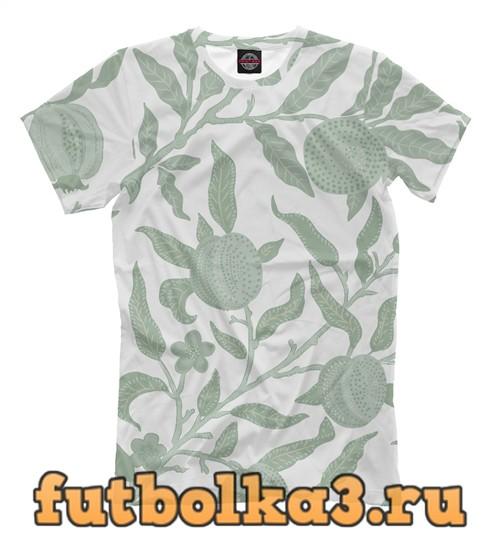 Футболка Floral grey мужская