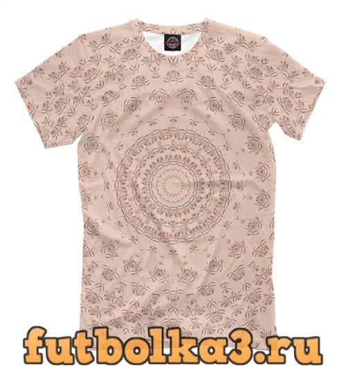 Футболка Floral mandala мужская