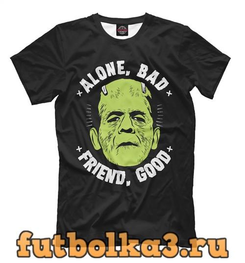 Футболка Франкенштейн мужская
