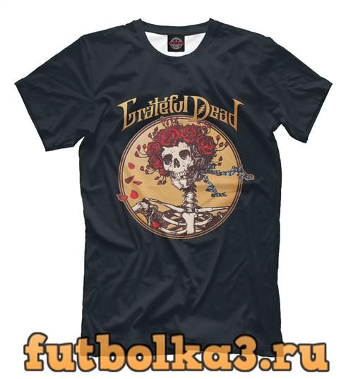 Футболка Grateful dead мужская