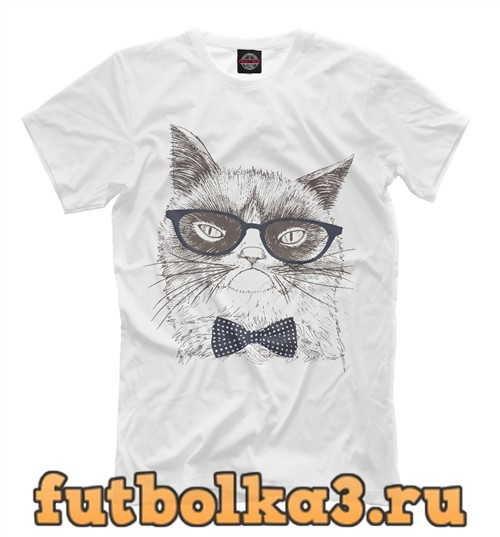 Футболка Grumpy cat мужская