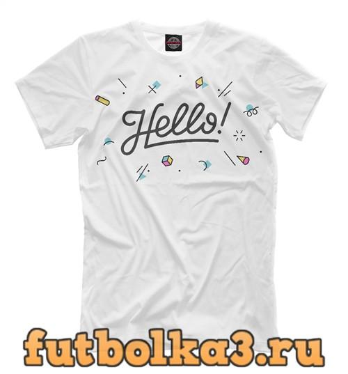 Футболка Hello мужская