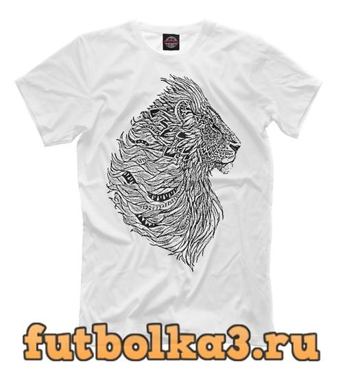 Футболка Хищные кошки мужская