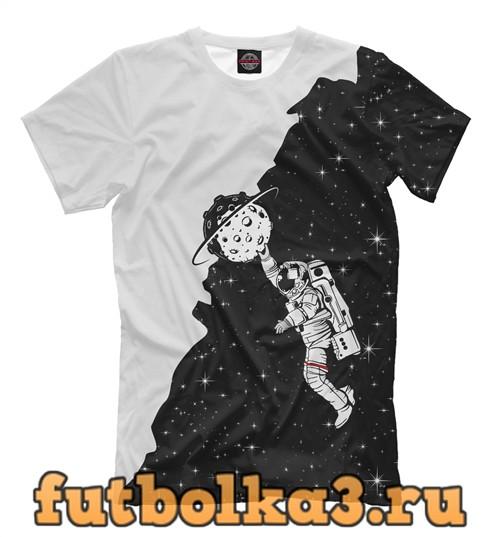 Футболка Космонавт мужская