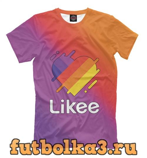 Футболка Likee (like video) мужская