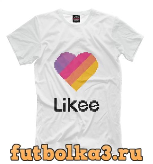 Футболка Likee pixel мужская