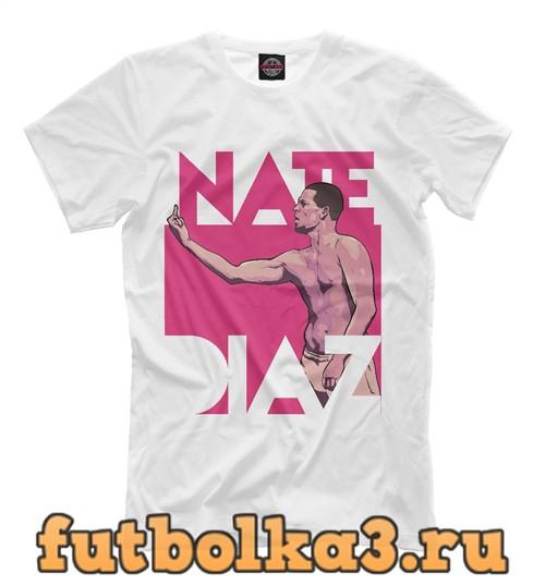 Футболка Нейт диас мужская