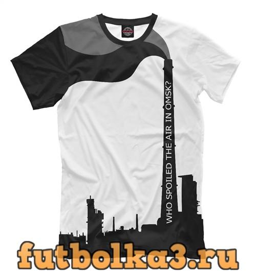 Футболка Омский воздух мужская