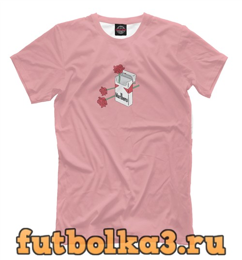Футболка Пачка сигарет мужская