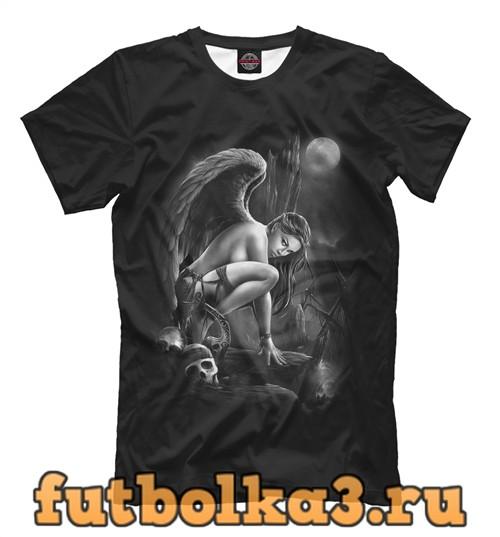 Футболка Падший ангел мужская
