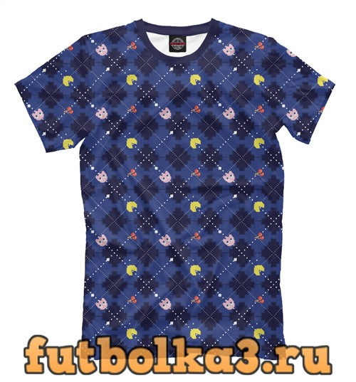 Футболка Пакмен мужская