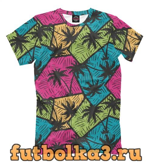 Футболка Пальмы мужская