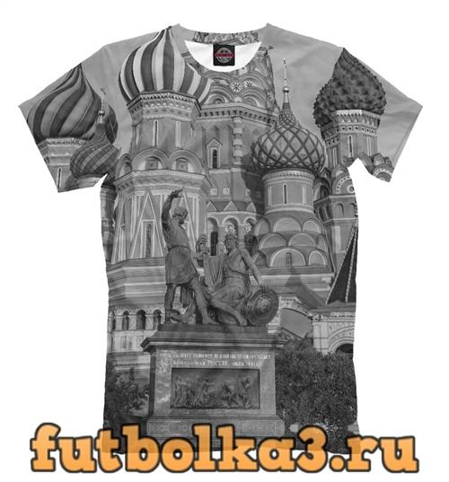 Футболка Памятник минину и пожарскому мужская